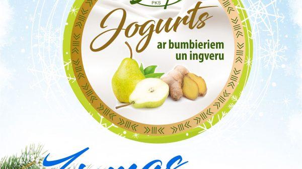 Ziemas možumam – jogurts ar bumbieriem un ingveru