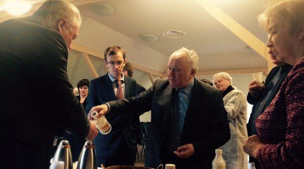 Zemkopības ministra Jāņa Dūklava vizīte