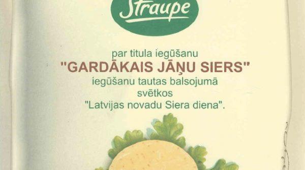 PKS Straupe viesojās Ikšķilē, siera dienā.