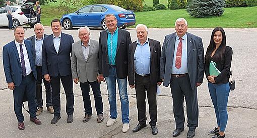 """LOSP (Lauksaimniecības organizāciju sadarbības padome) viesojas PKS """"Straupe"""""""